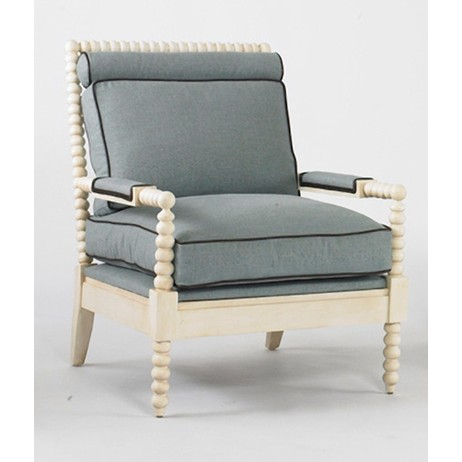 Blanchard Chair and Ottoman by Julian Chichester