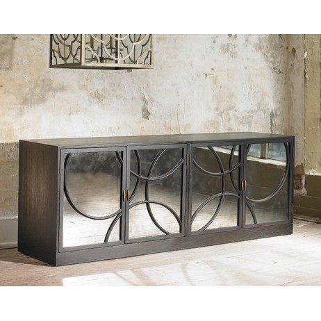 Circles Long Cabinet by Julian Chichester