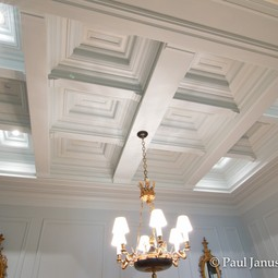 coffered ceilings by Paul Janus Building Arts