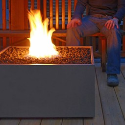 Firebox 30 Outdoor Fire Pit by Solus Decor Inc