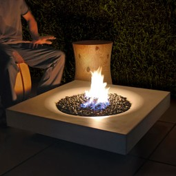 Halo 36 Outdoor Firepit by Solus Decor Inc