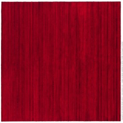 stripes on wood, variations in Red no. 3 48/48 by Michele Renée Ledoux Fine Art