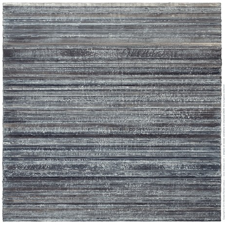 stripes on wood, variations in charcoal 29/29 by Michele Renée Ledoux Fine Art
