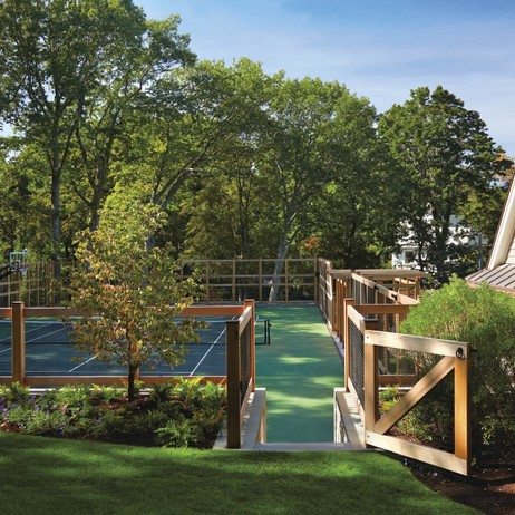 Custom Tennis Court Fence Enclosure by Walpole Outdoors