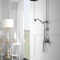 Canterbury Exposed Thermostatic Sho by GRAFF