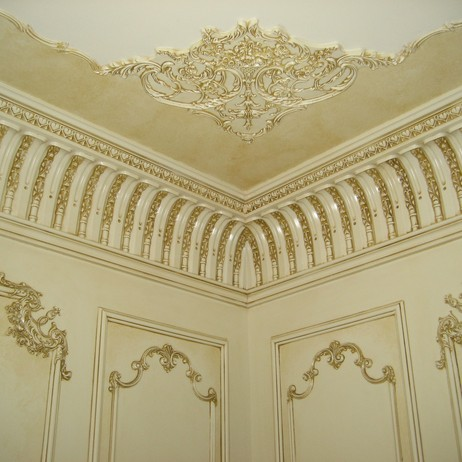 plaster crown molding DC512-036 by DecoCraft USA