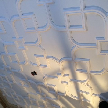 Plaster Ceiling Pattern  by DecoCraft USA