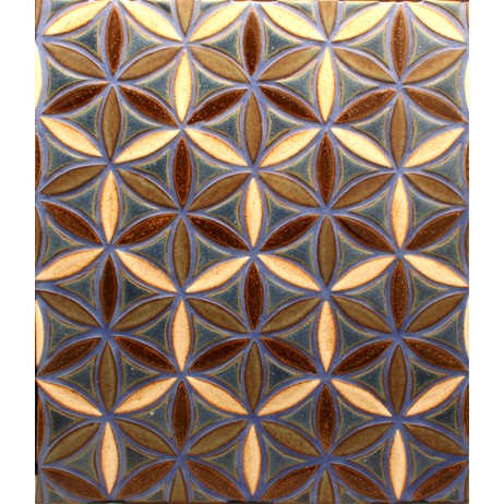 Flower of life by North Prairie Tileworks, Inc.