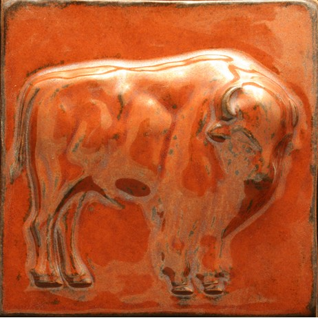 Buffalo relief by North Prairie Tileworks, Inc.