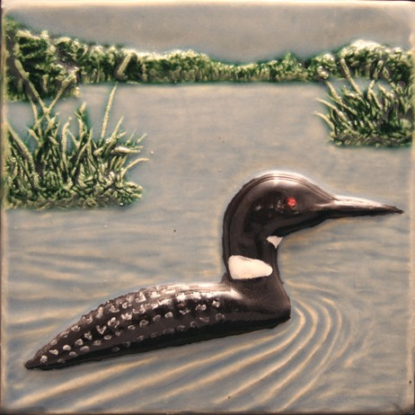 Loon relief by North Prairie Tileworks, Inc.