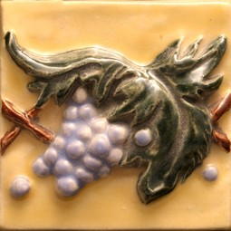 Grape relief by North Prairie Tileworks, Inc.