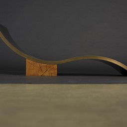 Bronze Chaise Lounge by John Houshmand