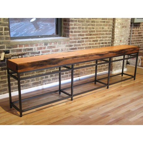 Old Growth Console Table by John Houshmand