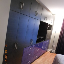Custom Wardrobe Wall for TV by Contempo Space