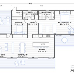 Glidehouse Floorplan by Blu Homes