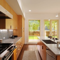 Sidebreeze Kitchen by Blu Homes