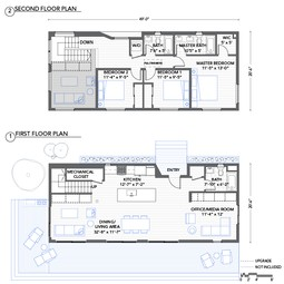 Lofthouse Floorplan by Blu Homes