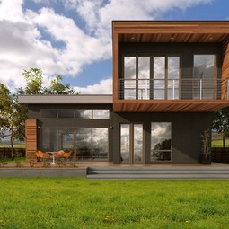 Sidebreeze Exterior by Blu Homes
