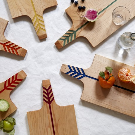 Arrow Boards, Maple Brights Collection by Noble Goods