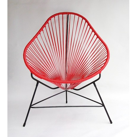Acapulco Chair - Red by Ocho
