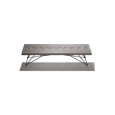 Orson Concrete Bench Coffee Table by BOXHILL