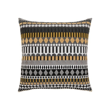 Golden Deco Outdoor Pillow by BOXHILL