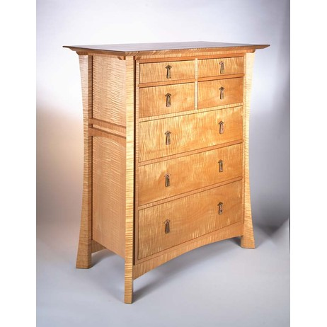 Waterfall Empress Chest by Hardwood Artisans