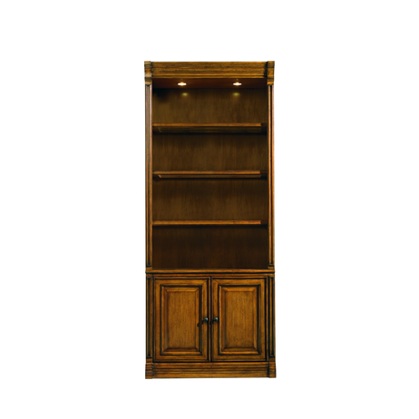 Tahoe Bookcase with Lower Doors by Sligh Furniture
