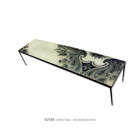 Tatto Coffee Table by PAMP'ART LLC