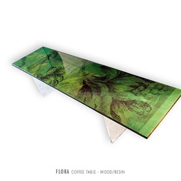 Flora Coffee Table by PAMP'ART LLC