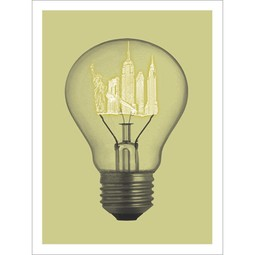 NYC Bulb by Paste + Jason Laurits