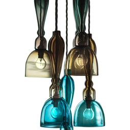 Stem Chandelier by Curiousa and Curiousa