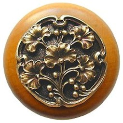 Gingko Berry Maple Knob by Notting Hill Decorative Hardware