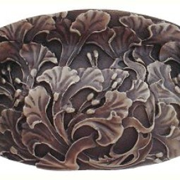 Florid Leaves Bin Pull by Notting Hill Decorative Hardware