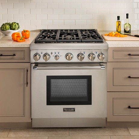 "Thermador 30"" Five-Burner Pro Harmony® Range  by Thermador"
