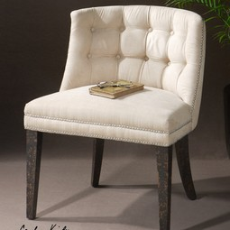 Trixie, Slipper Chair by Uttermost