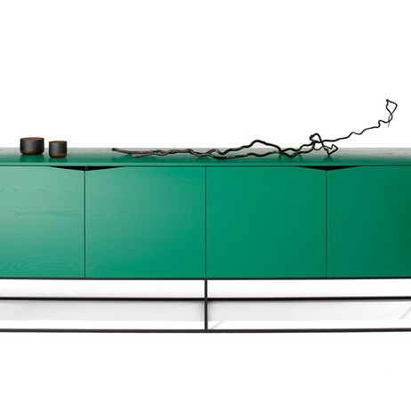 Rustic Modern Credenza by woodsport