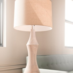 Turned Table Lamp by woodsport