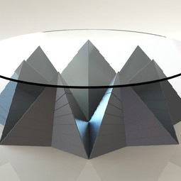 Pyramid Tables by Past Presence Designs