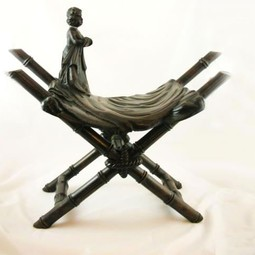 Bench, French Figural by Gardner's Antiques