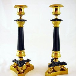 Pair of Candlesticks by Gardner's Antiques