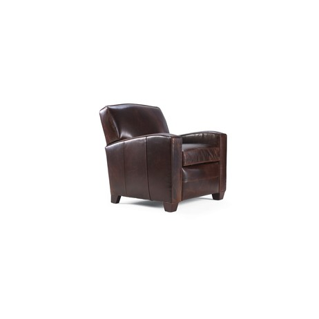 MICHAEL LEATHER RECLINER by Mitchell Gold + Bob Williams