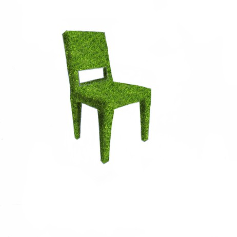 Grass Square-Back Chair by Pavarini Design