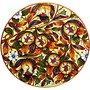 Italian Ceramic Pomegranate Plate by Sorella Luna, Inc