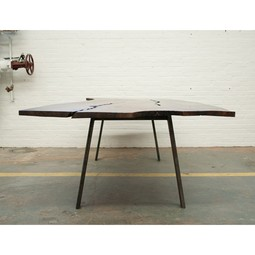 Grey Dining table by Dylan Design Co