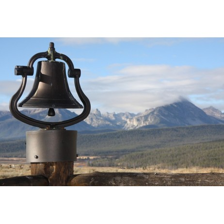 "Large 12"" Bell by Rocky Mountain Hardware"