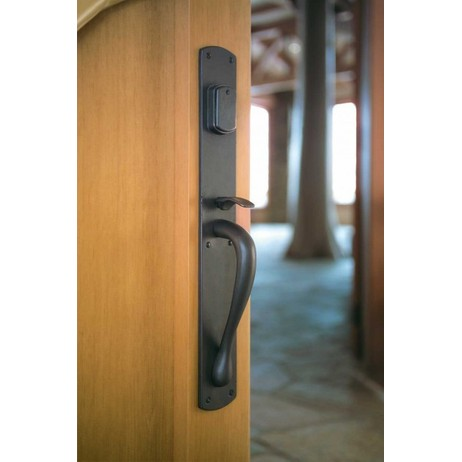 Curved Thumblatch Entry Set by Rocky Mountain Hardware