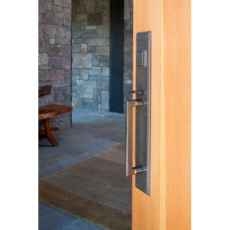 Stepped Thumblatch Entry Set by Rocky Mountain Hardware