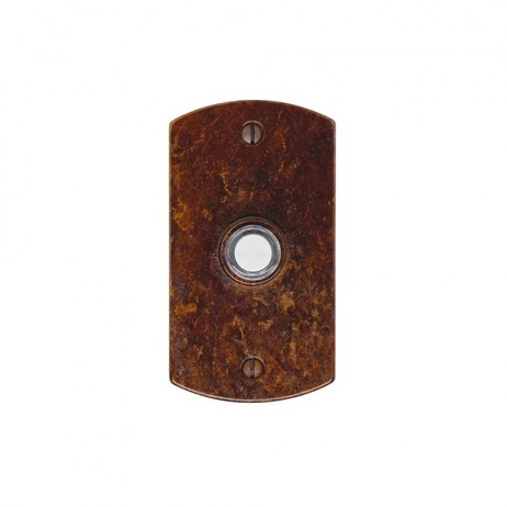 Curved Doorbell Button  by Rocky Mountain Hardware