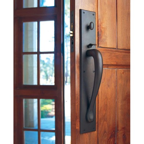 Rectangular Thumblatch Entry Set by Rocky Mountain Hardware